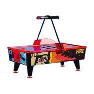 Коммерческий аэрохоккей Ice Fire 8 ф купюроприемник, фото 1