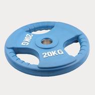Олимпийский диск евро-классик с тройным хватом 20 кг., фото 1