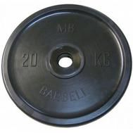 MB Barbell Евро-классик диск 25 кг, фото 1
