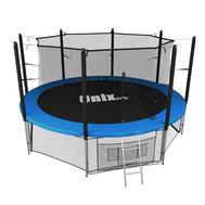 Большой каркасный батут для детей и взрослых UNIX LINE 10ft INSIDE, фото 1