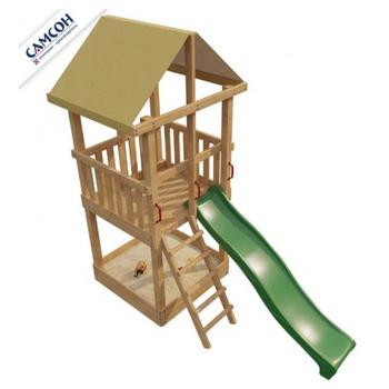 Уличный деревянный городок для детей от 3 лет - САМСОН 2-ОЙ ЭЛЕМЕНТ, фото 3