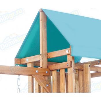 Игровая площадка BABYGARDEN с закрытым домиком, скалолазкой и горкой 2.4 м, фото 8